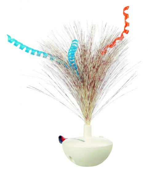 Trixie feather wobble kattenspeeltje met veren