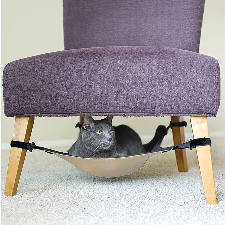 Beste kattenhangmat voor onder stoel- Yacriso Hangmat Onder Stoel